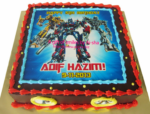 Birthday Cake Edible Image Transformers