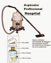 Aspirador de Pó Hospitalar