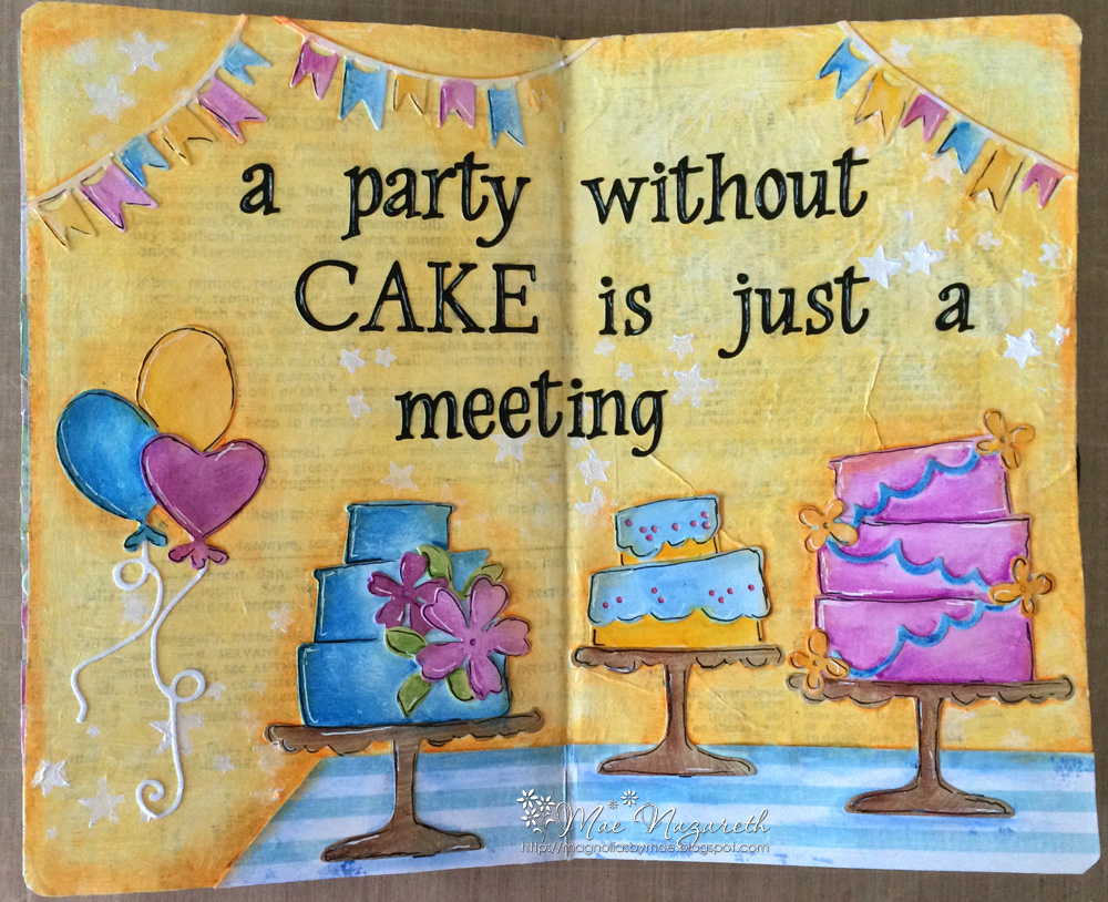 Cake Art Kit : DooHickey Kit 5: Cake Art Journal   Magnolia