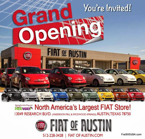 FIAT of Austin Grand Opening