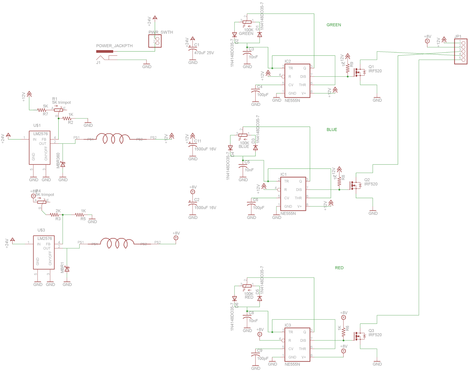 Misadventures Trim Pot Wiring Complete With Lazily Drawn Inductors