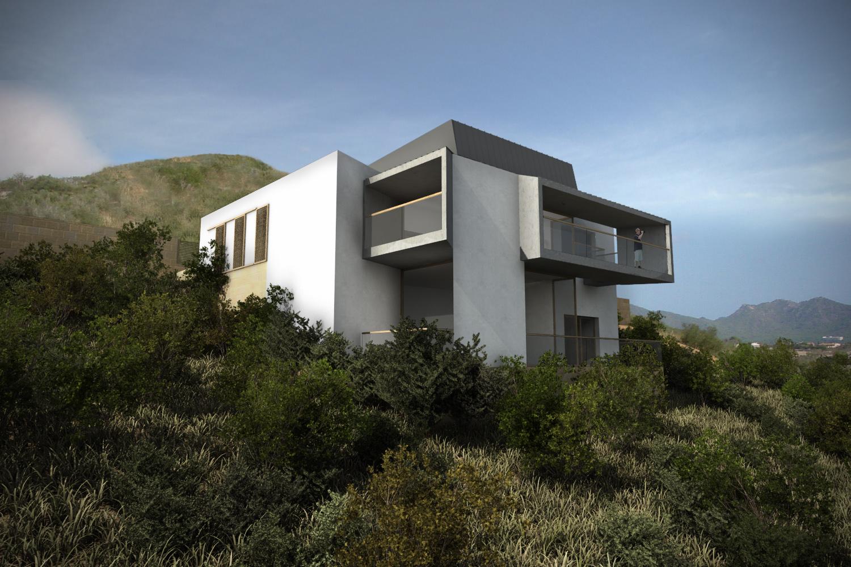 Beriot bernardini arquitectos vivienda unifamiliar son servera mallorca - Arquitectos en mallorca ...