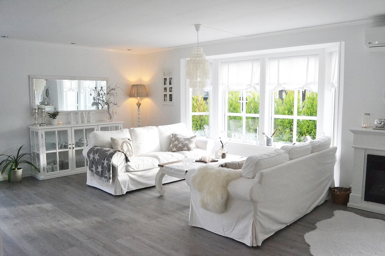 Silje Vaniljeis: Ett hvitt og delikat hjem.