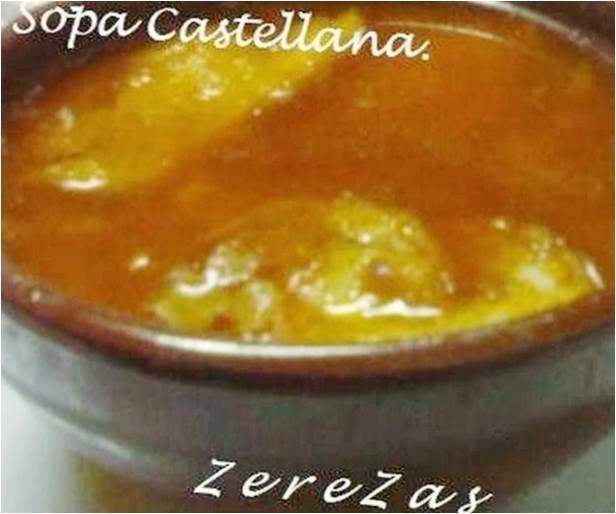 Zerezas otrasformasdecocinar sopa castellana - Sopa castellana casera ...