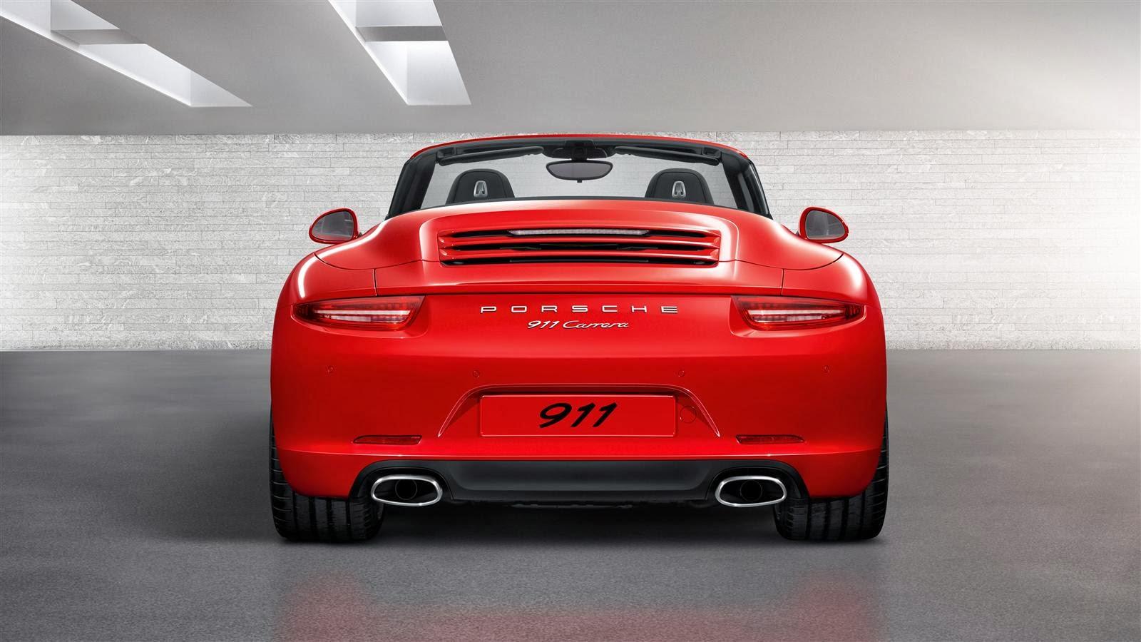Porsche 911 Carrera Cabriolet Exterior2