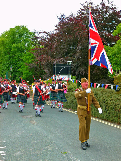 City of Bradford Pipe Band, Ingleton, Yorkshire
