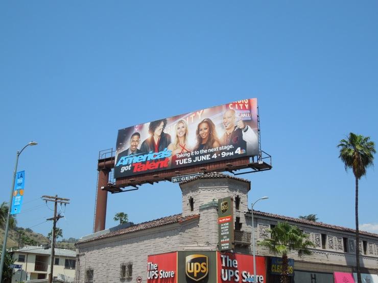 Americas Got Talent season 8 billboard