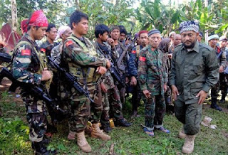 Sulu Terrorist that invaded Lahad Datu, Sabah