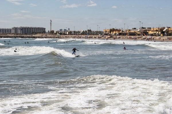 Surfing Walencja