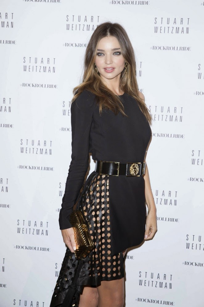 Miranda Kerr – Stuart Weitzman Cocktail Party For #Rockrollride Film Premiere in Paris