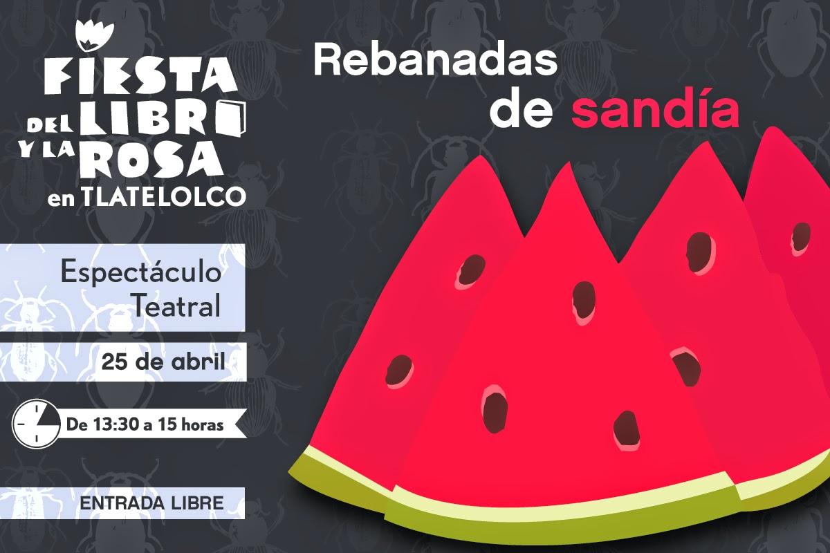 Actividades infantiles en Tlatelolco durante la Fiesta del Libro y la Rosa 2015