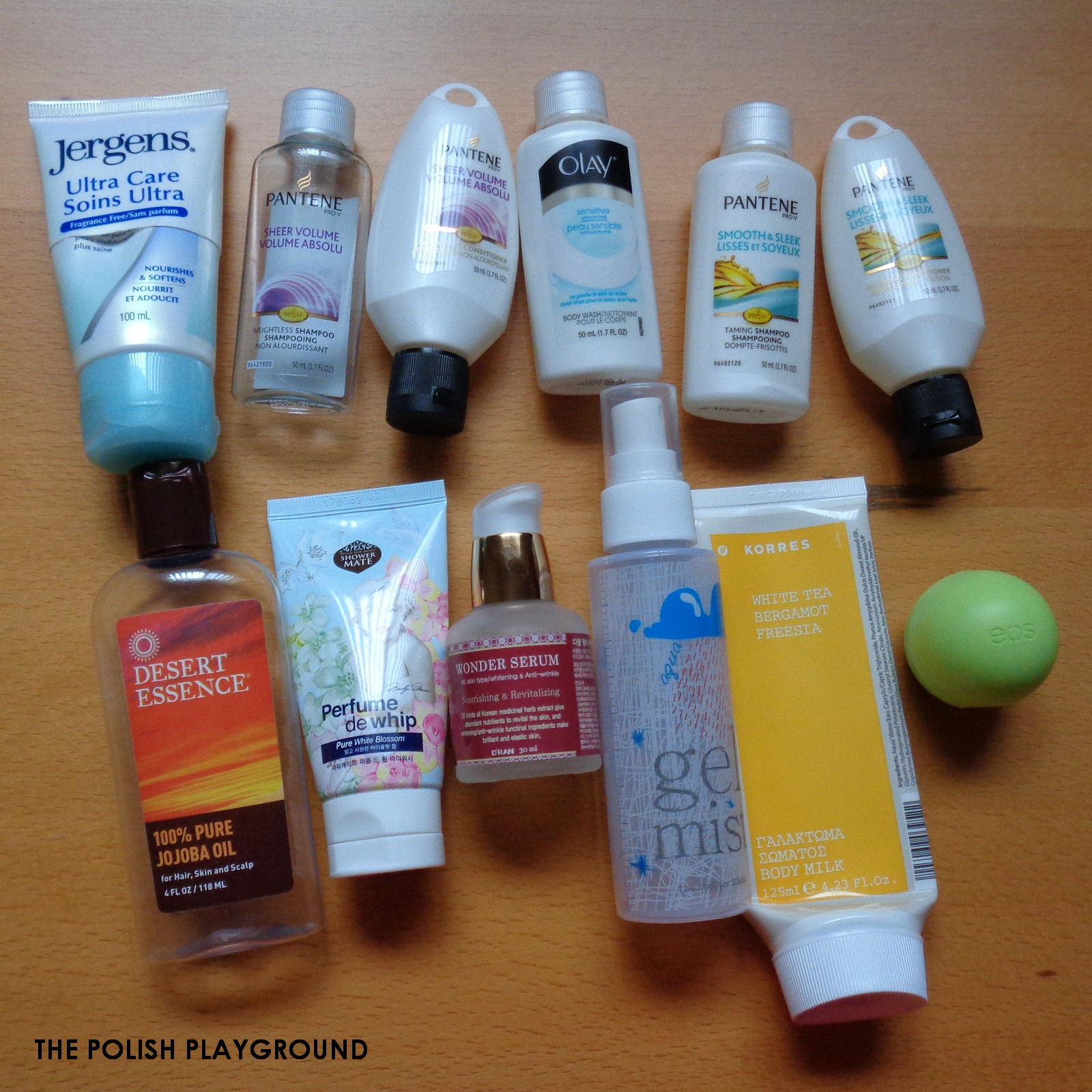 December 2014 Product Empties