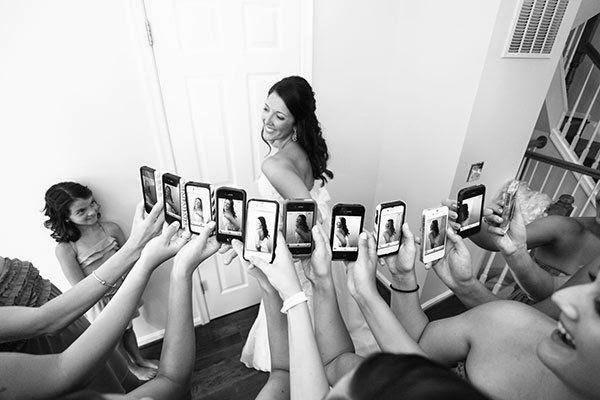 fotos da noiva para redes sociais
