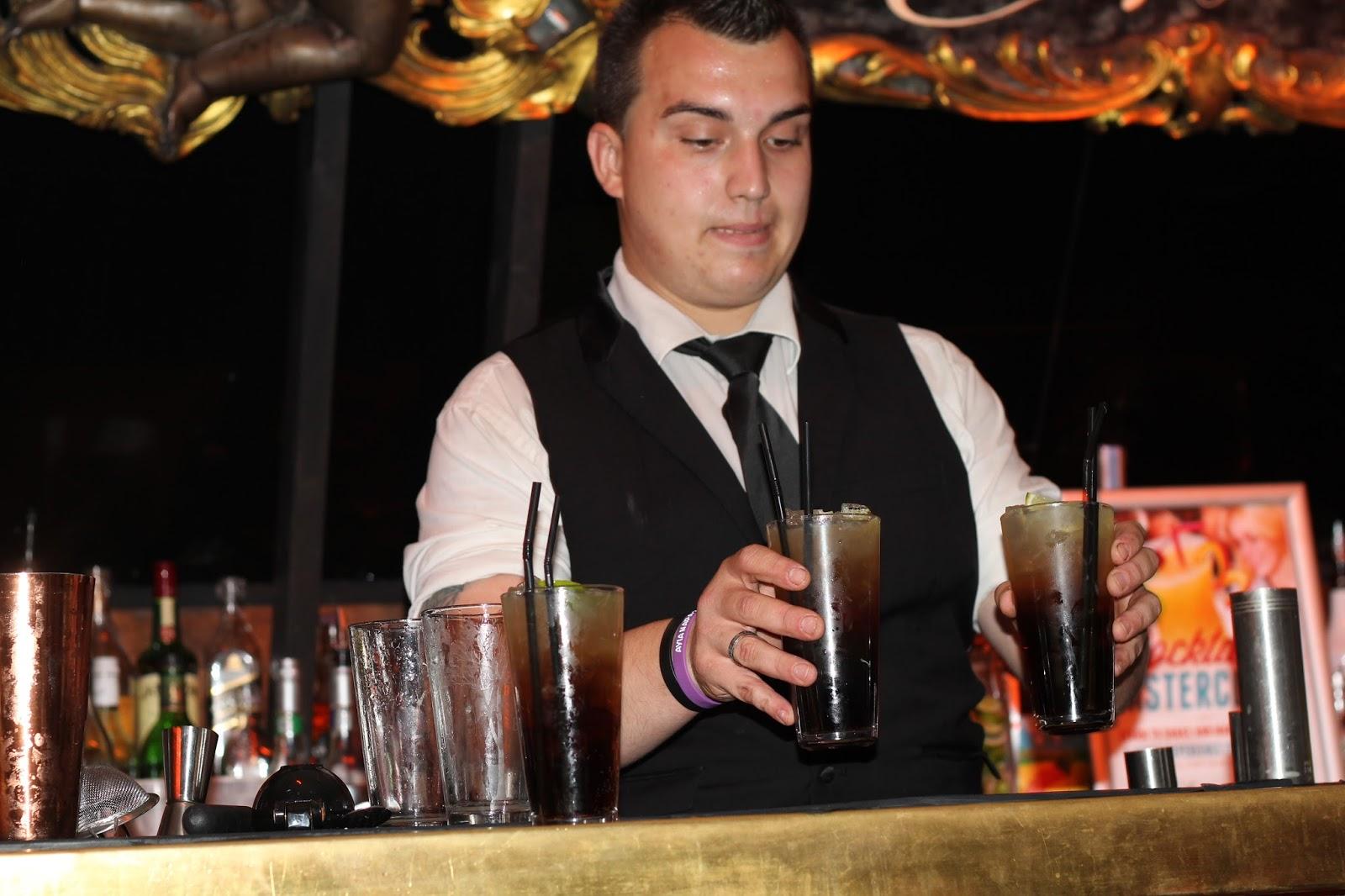 Cocktail masterclass, soda bar cardiff, long island ice tea