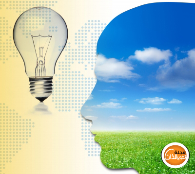تمارين للدماغ لتحسين التركيز والذاكرة Brain-bulb