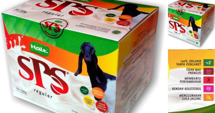 Susu Kambing SPS Obat Herbal Asma