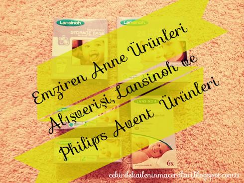 Emziren Anne Ürünleri Alışverişi, Lansinoh ve Philips Avent  Ürünleri