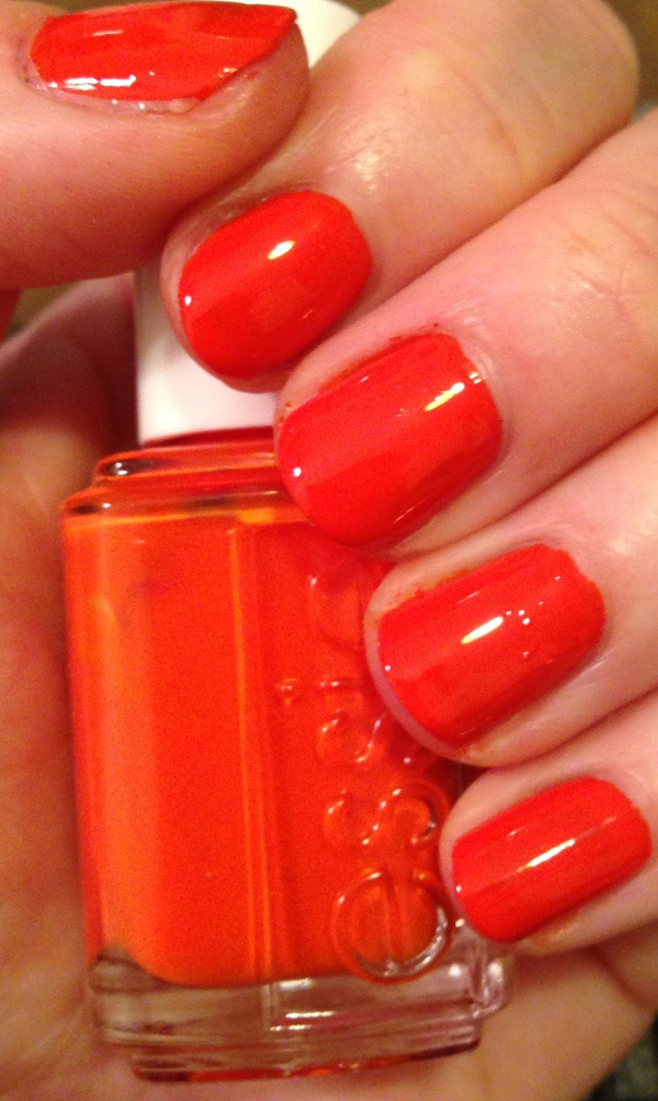 Red Orange Nail Polish at Nail Arts and Design Ideas