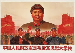Waarom bandnaam Gang of Four - Cultural_Revolution_poster