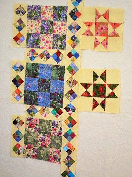 Quiltbee design wallflowers - Wall flower design ...
