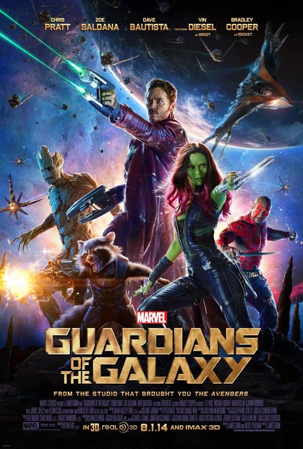 """Nuevo poster """"Guardianes de la Galaxia"""""""