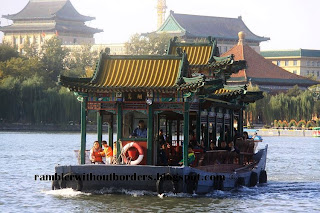 Ferry, Behai Park, Beijing