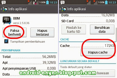 Tips solusi BBM Android centang, Ups, Error, Pending, Sounding