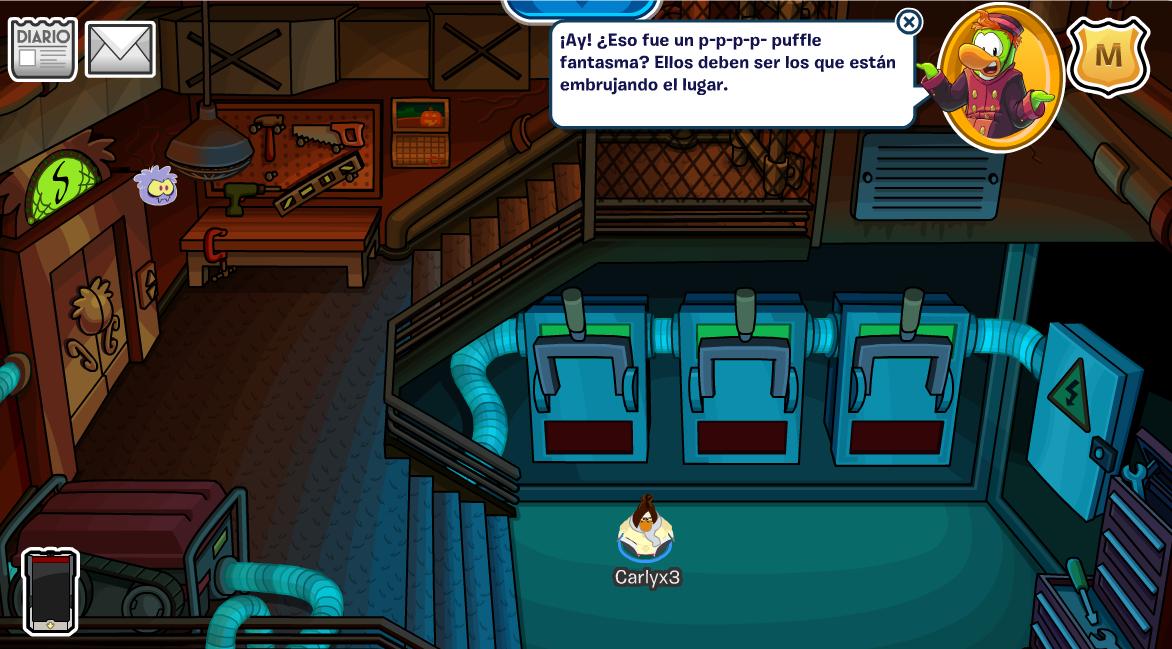Club Penguin Octubre 2014