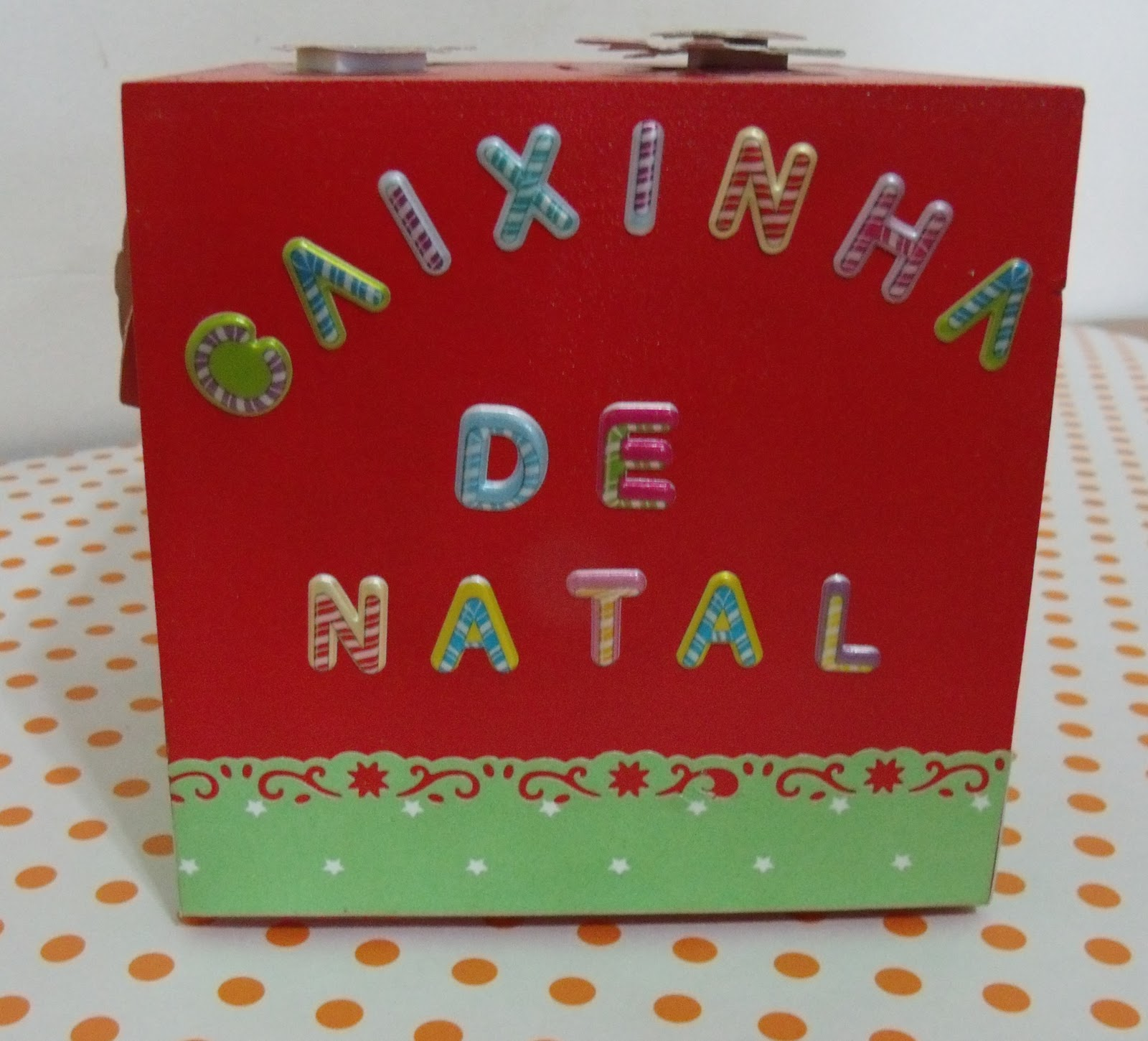 Coisinhas Caixinha De Natal