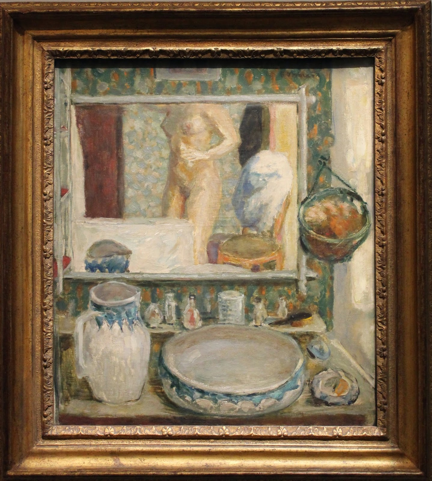 Le fl¢neur des deux monts Bonnard effets de miroir