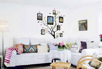 Desain Ruang Keluarga Gaya Minimalis