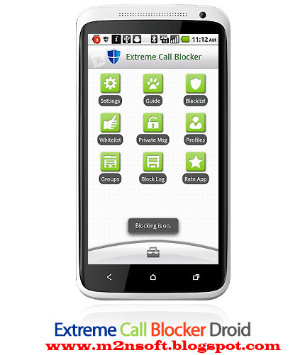 Blocking phone calls - Mobile Phone Block kit