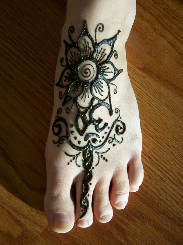 Mehndi For Feet Simple : Mehndi designs easy for hands
