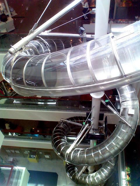 LEX SLIDE : World's Tallest Indoor Tube Slide Hanya Di Empire Shopping