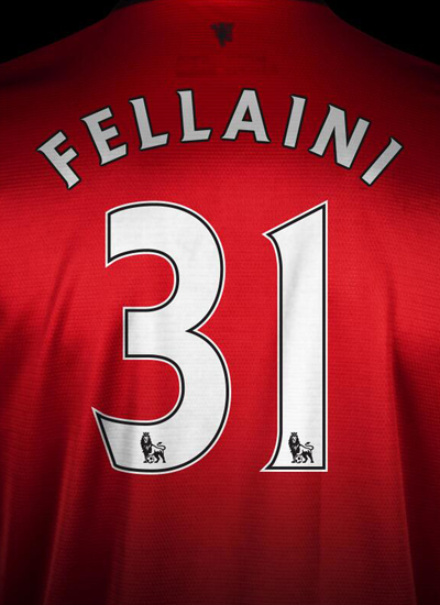 Marouane Fellaini 31 Manchester United 2013