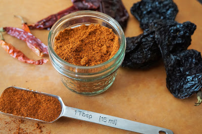Kristin's Chili Powder, From Scratch, From Dried Chiles