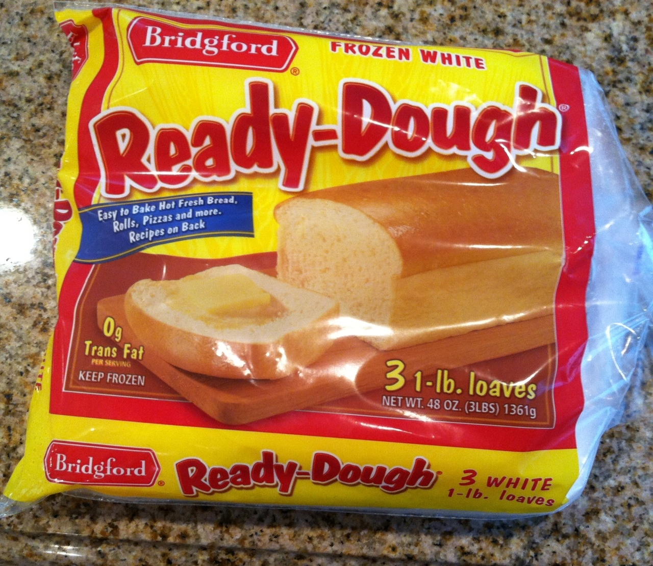 Bridgford frozen bread dough coupons
