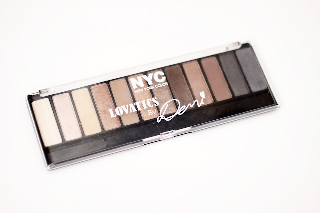 NYC Lovatics by Demi Eyeshadow Palette Review