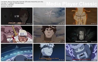 "Download Film / Anime Naruto Episode 326 ""Yonbi Sang Raja Kera"" Shippuden Bahasa Indonesia"