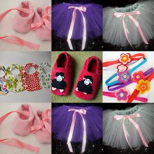 Confectionez papucei de casa pt copii si adulti, FUSTITE TUTU, bavete, bentite par etc.
