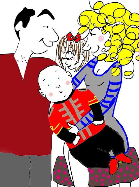 Famille - illustration La Vie selon L./Lucie Paris-Legret