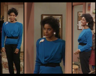 Cosby Show Huxtable fashion blog 80s sitcom Phylicia Rashad Clair