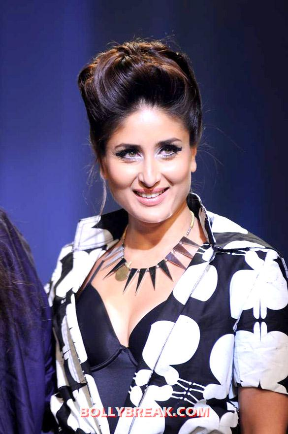 Kareena Kapoor looking Fat at Lakme Fashion week August 2012 - (7) - Kareena Kapoor walks at Lakme Fashion Week 2012 grand finale