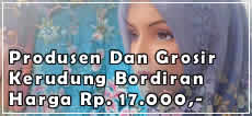 Produsen dan Grosir Jilbab Bordiran