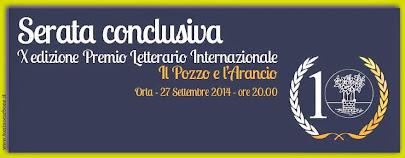 """x edizione del premio letterario internazionale - """"il pozzo e l'arancio"""""""