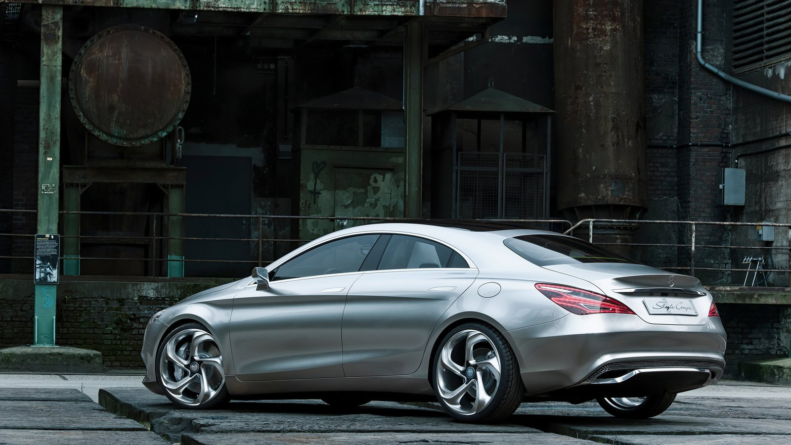2012 mercedes benz concept style coupe 4wd on 20 2 0 for Mercedes benz 4wd