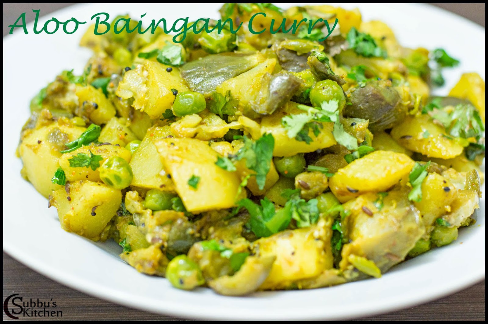 Aloo Baingan Curry Recipe | Potato Brinjal Curry Recipe