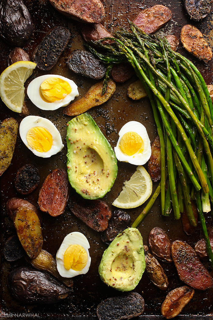 Roasted Potato Salad with Asparagus | Club Narwhal