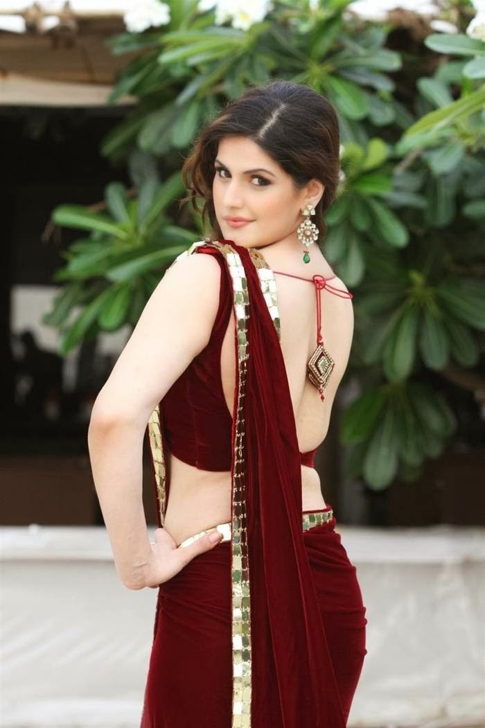 backless saree blouse pics