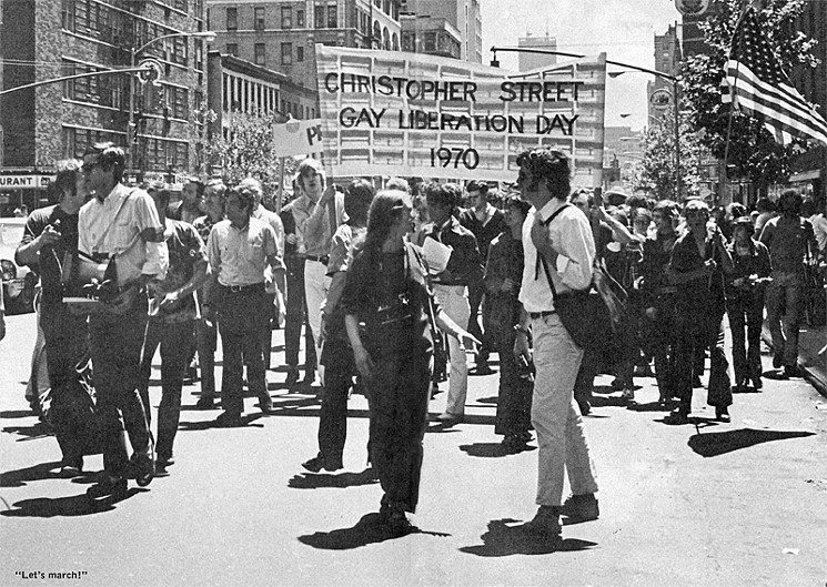 25 Breathtaking Photos From The Past - Gay pride, 1970. USA